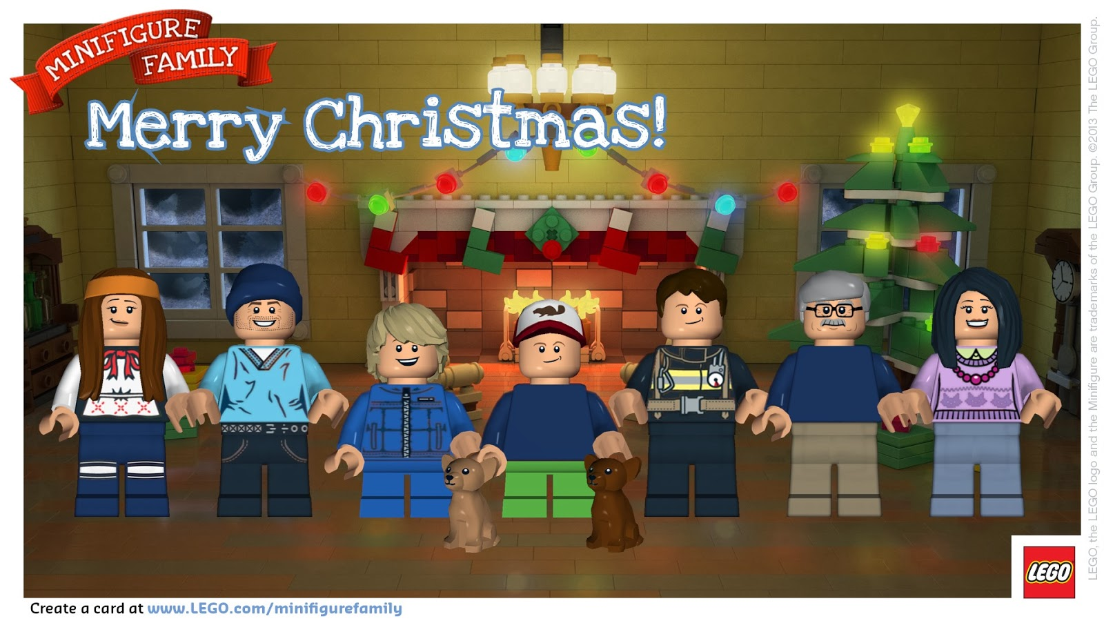 Create Lego Minifigure Picture of your Family:: Printable ...