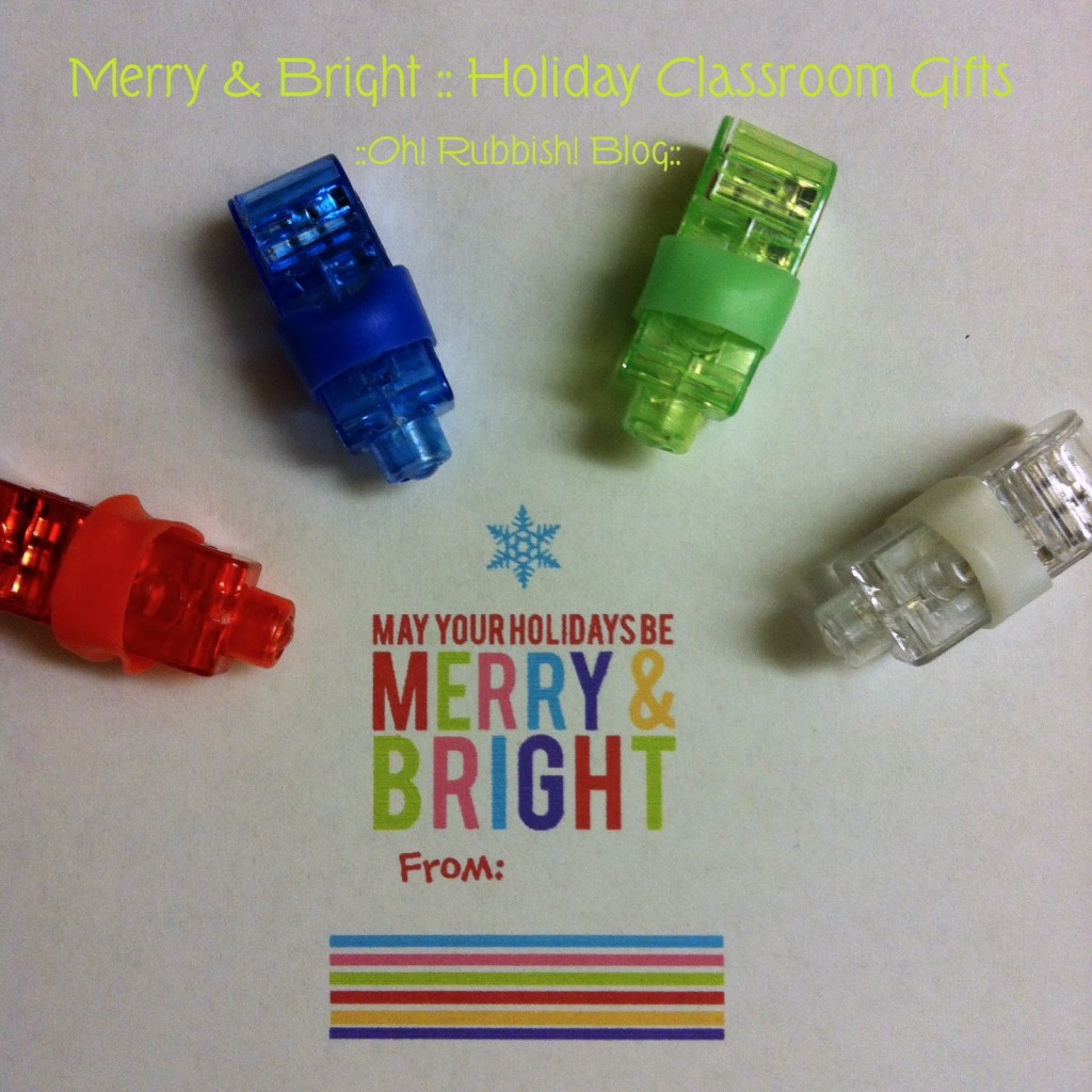 May Your Holidays Be Merry & Bright :: LED Finger Lights Christmas ...