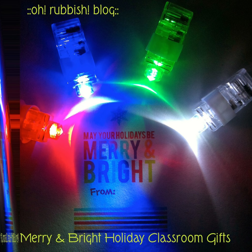 Merry & Bright Oh Rubbish Blog