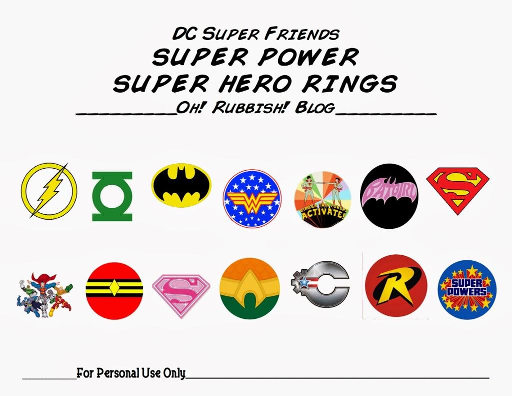 Super Power Superhero Cuffs