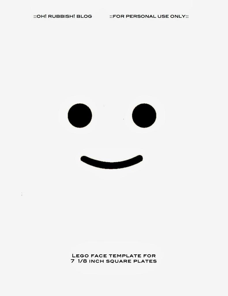 Printable Lego Faces