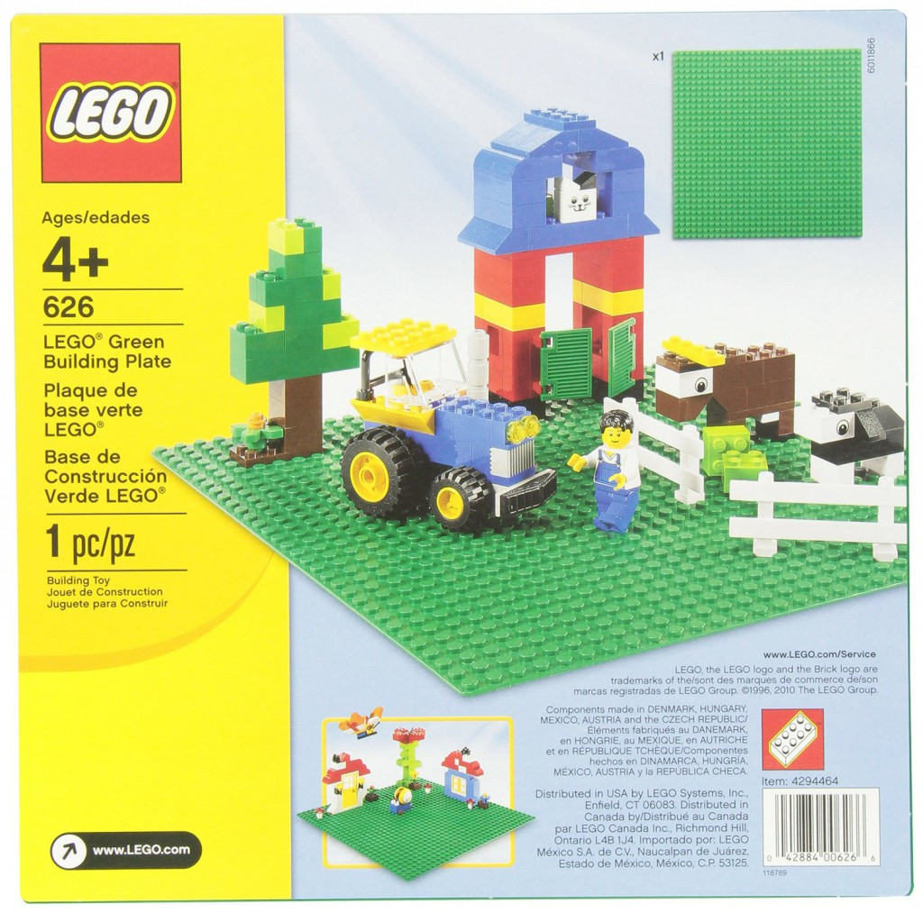 Lego building plates