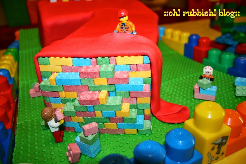 Lego Birthday Cakes Boys Make Lego Birthday Cake Numbered