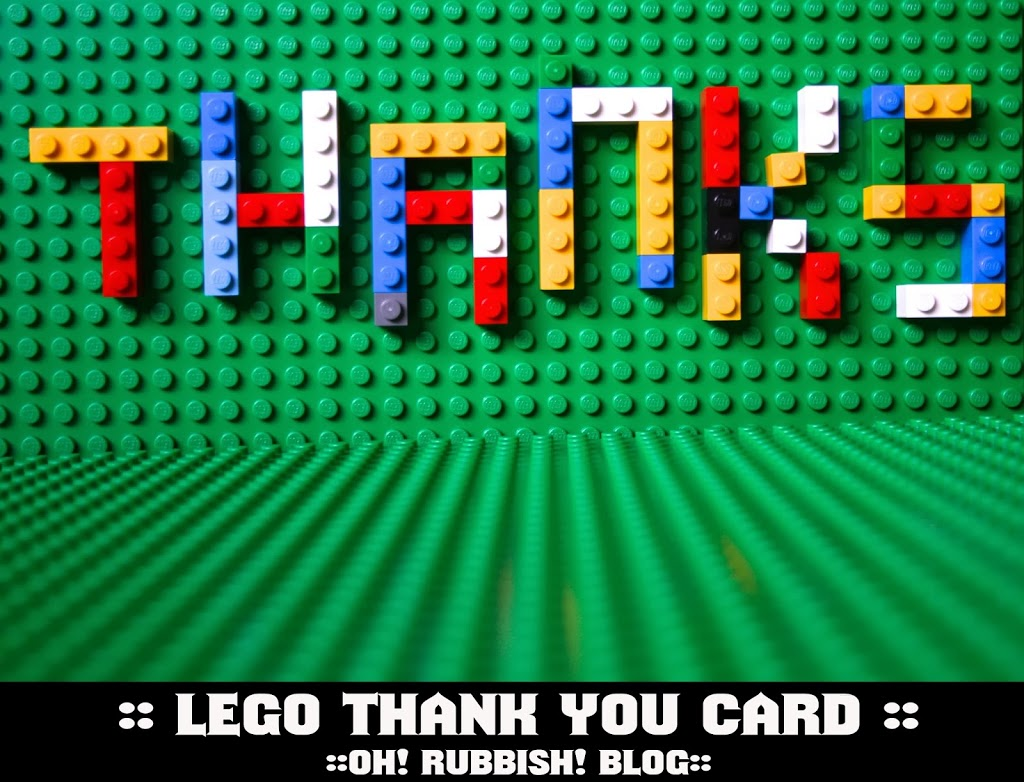 Lego Thank You Card Free Lego Party Printables Birthday – Printable Birthday Thank You Cards