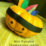 Mini Pumpkin Thanksgiving Indian