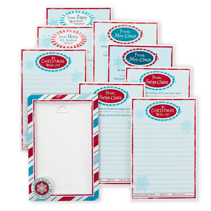 Hallmark Northpole Magic Mail Blue Version