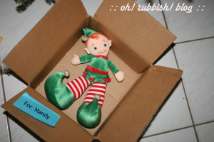 Elf on the Shelf Mischief. oh rubbish blog