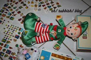 Elf on the Shelf Mischief. oh rubbish blog11