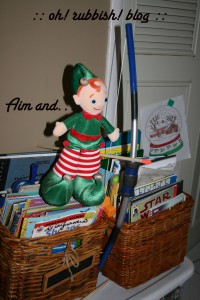 Elf on the Shelf Mischief. oh rubbish blog15a