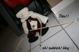Elf on the Shelf Mischief. oh rubbish blog15b