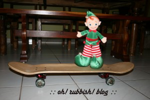 Elf on the Shelf Mischief. oh rubbish blog2