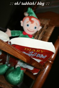 Elf on the Shelf Mischief. oh rubbish blog8