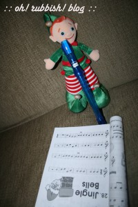 Elf on the Shelf Mischief. oh rubbish blog9