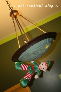 Elf on the Shelf- oh rubbish blog 14