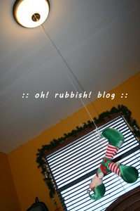 Elf on the Shelf- oh rubbish blog 18