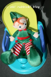 Elf on the Shelf- oh rubbish blog 24