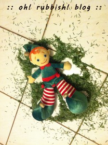 Elf on the Shelf- oh rubbish blog 28