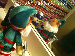 Elf on the Shelf- oh rubbish blog 29