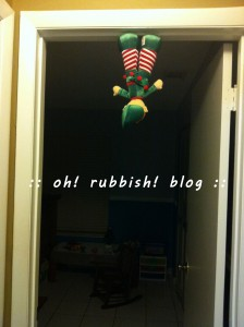 Elf on the Shelf- oh rubbish blog 30