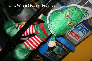 Elf on the Shelf- oh rubbish blog 36