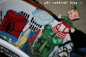 Elf on the Shelf- oh rubbish blog 5