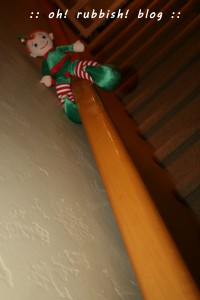 Elf on the Shelf-oh rubbish blog 9