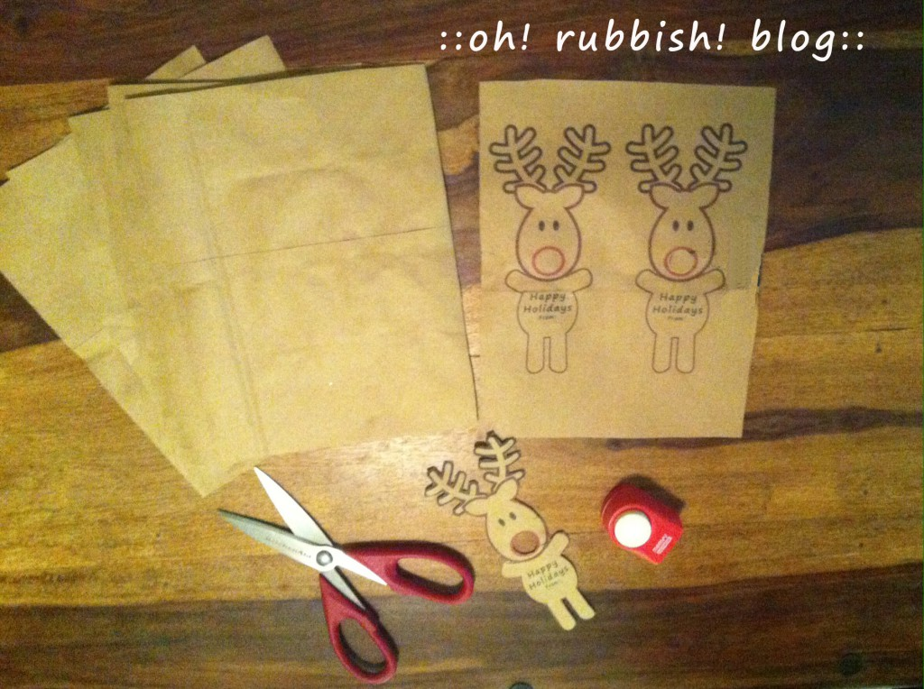 Rudolph Reindeer Lollipops by: Oh Rubbish Blog