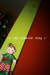 elf on the shelf. oh rubbish blog 13