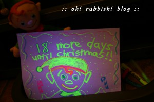 elf on the shelf. oh rubbish blog 16