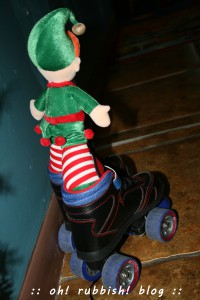 elf on the shelf. oh rubbish blog 19