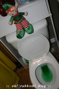 elf on the shelf. oh rubbish blog 21