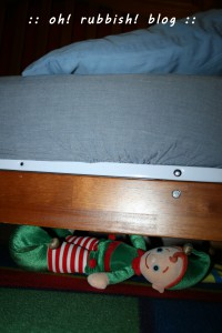elf on the shelf. oh rubbish blog 24