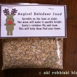 magical reindeer food by: oh! rubbish! blog