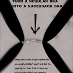 Regular Bra --- > Racerback Bra by: oh! rubbish! blog