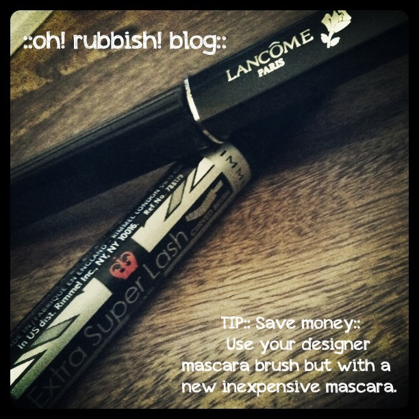 Mascara Tip by oh rubbish blog