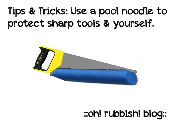 Tips & Tricks:: Pool Noodle by oh! rubbish! blog