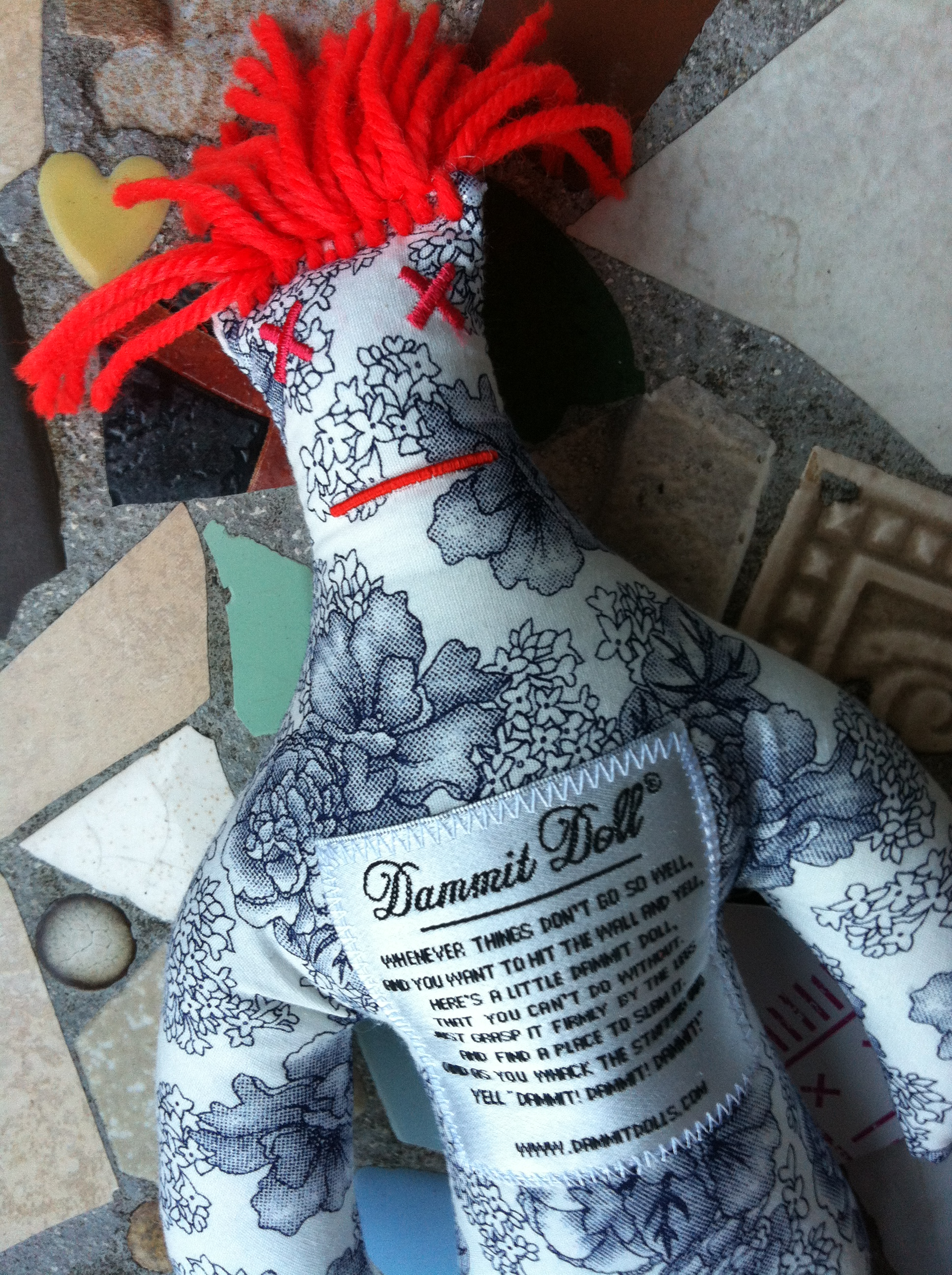 graphic regarding Dammit Doll Printable Pattern named Its the self-rewarding, disappointment relieving, hysterically