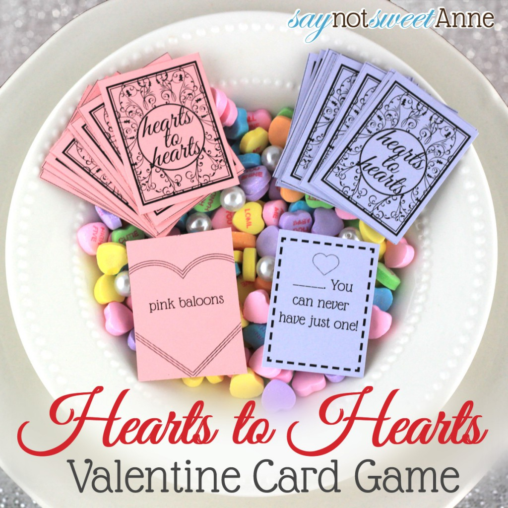 Hearts to Hearts Valentine Card Game