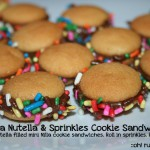 NUTELLA COOKIES with sprinkles by oh! rubbish! blog