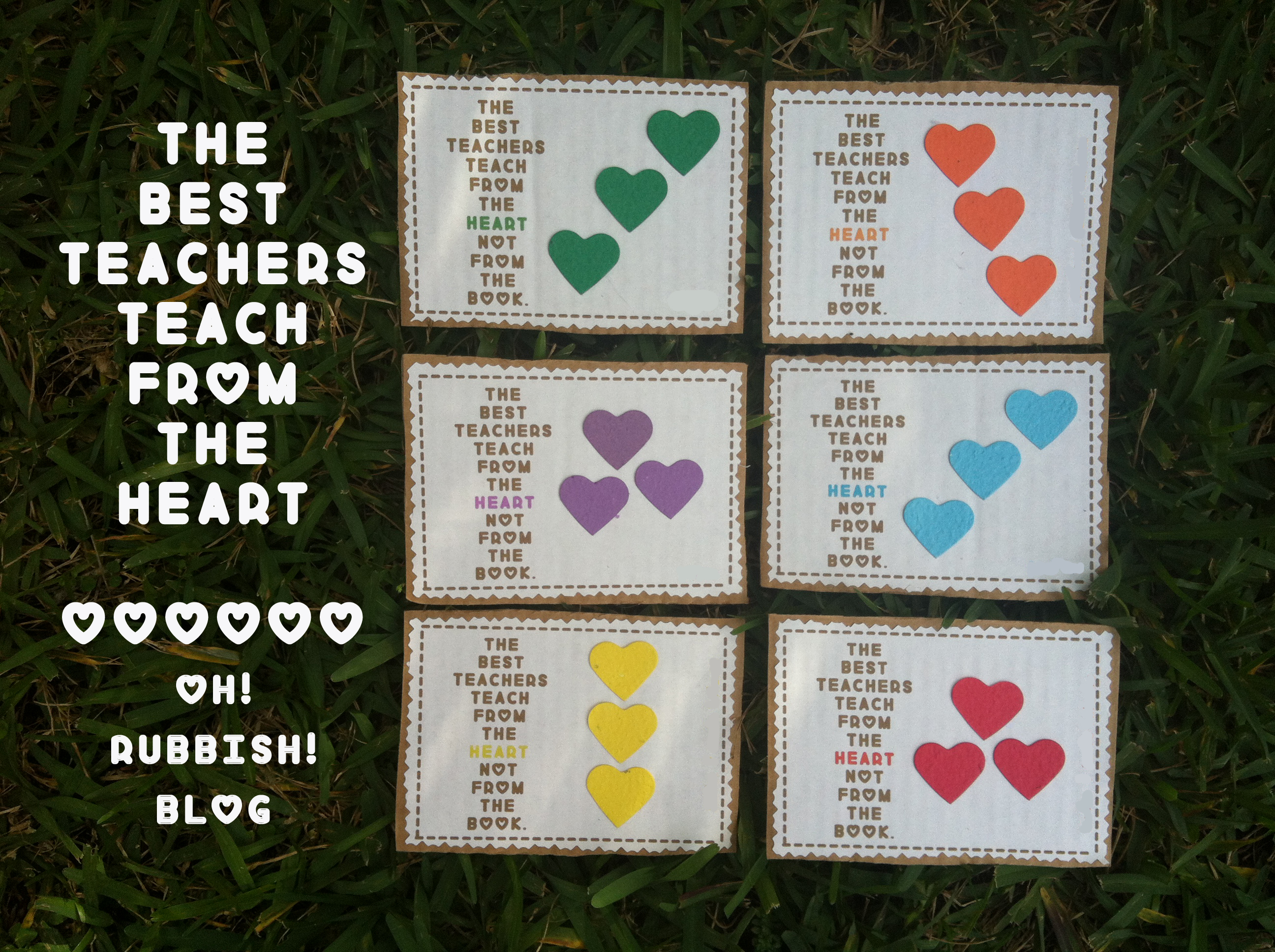 The Best Teachers Teach from the Heart :: Cute Teacher Valentine ...