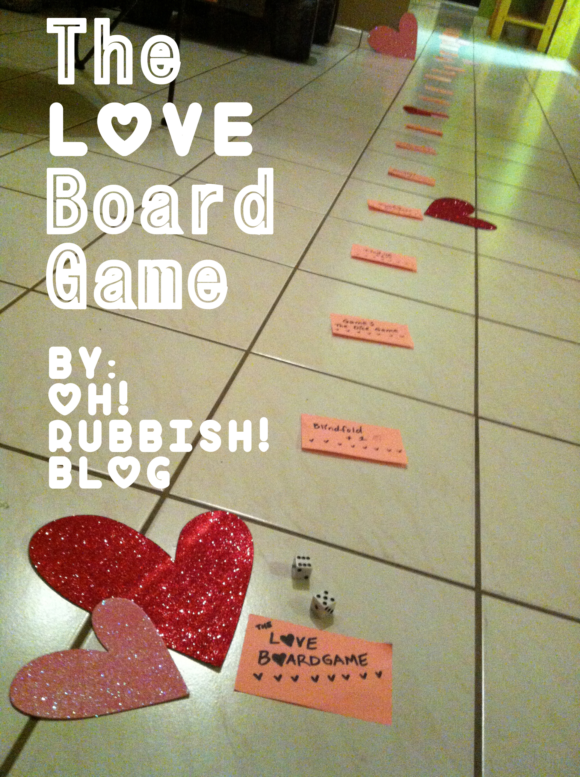 The LOVE Board Game :: Valentine's Games for Couples ...