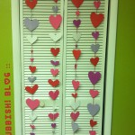 Valentine Garland Decorations by oh rubbish blog