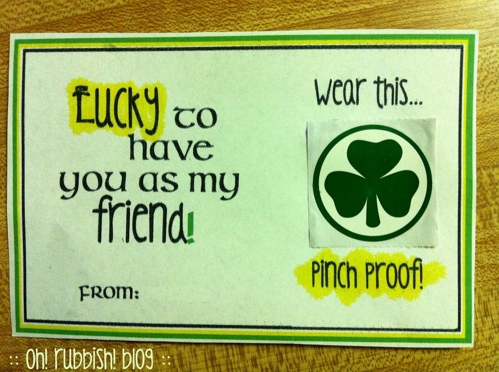 Lucky to have you as my friend by oh rubbish blog