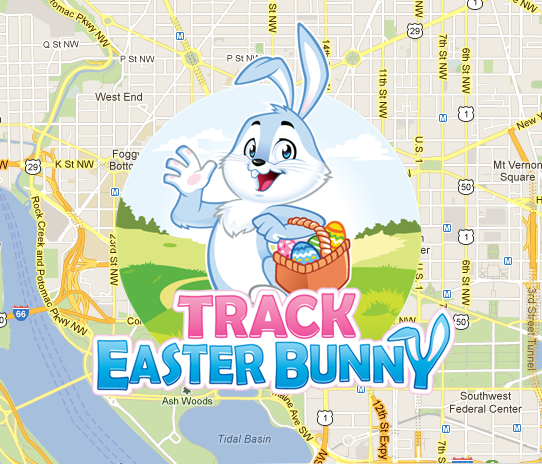 Easter Bunny Tracker