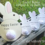 Easter Bunny Lollipop and Lip Balm Tails by oh rubbish blog