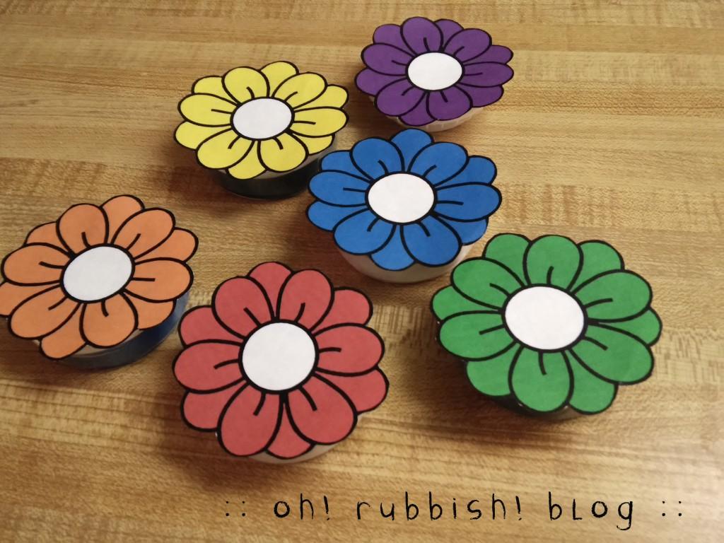 Teacher Favors Mint Flowers 4