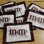 Hope You Have an M&M Year! Back To School Treats by: OH RUBBISH BLOG