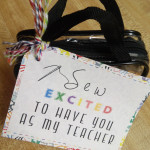 Sew Excited To Have You As My Teacher! by: oh rubbish blog