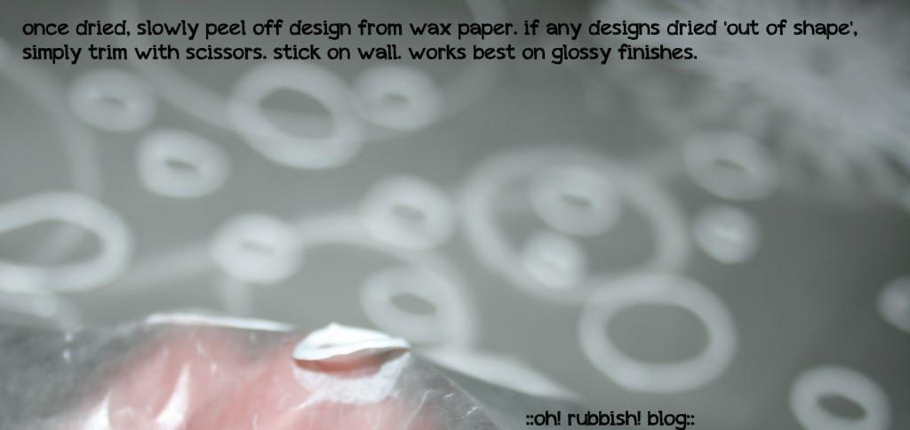 DIY 3D Wall Art :: oh! rubbish! blog