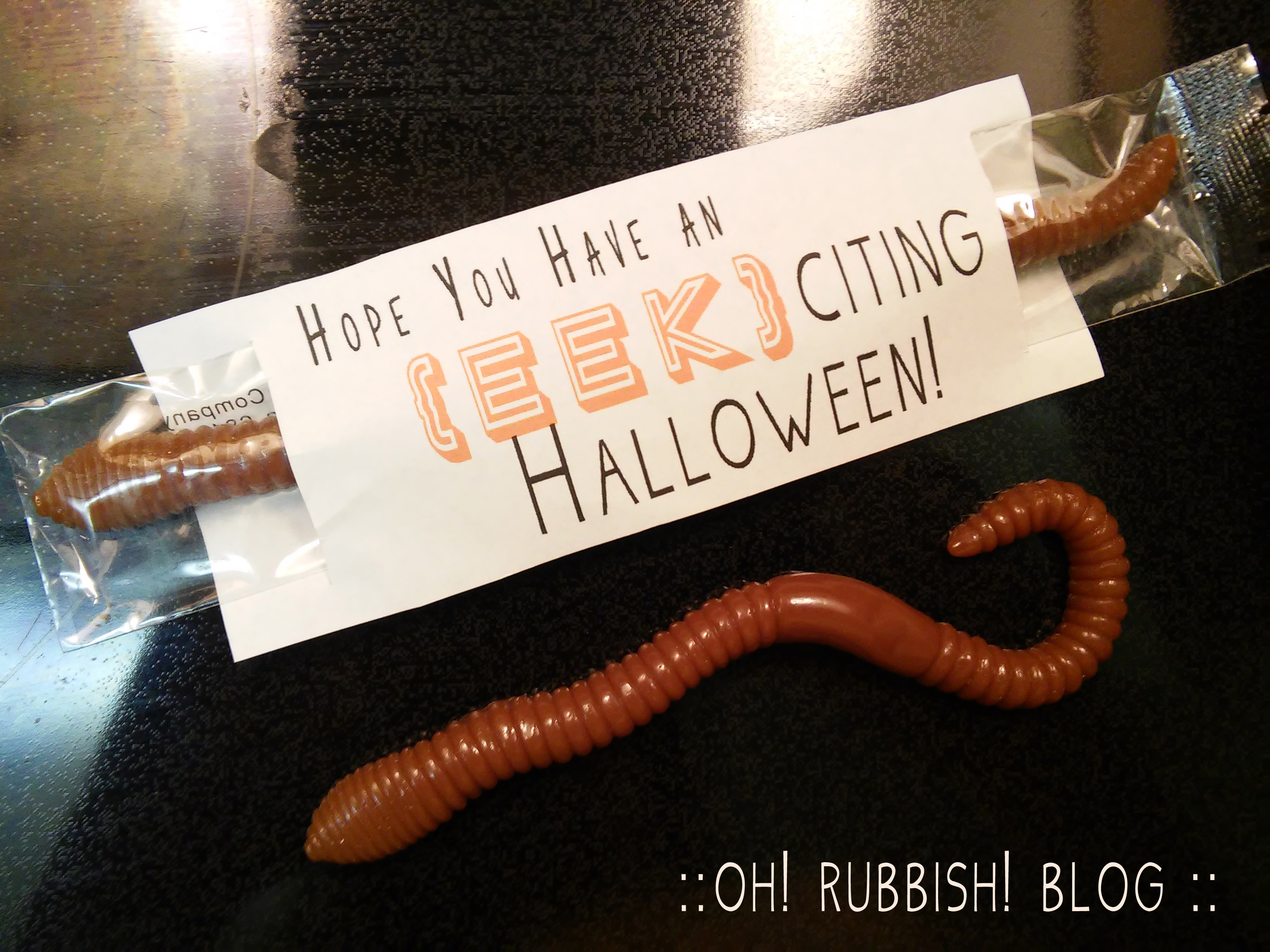 Hope You Have an EEK-citing Halloween by oh! rubbish! blog